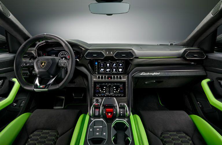 2021 Lamborghini Urus Pearl Capsule Interior Cabin Dashboard