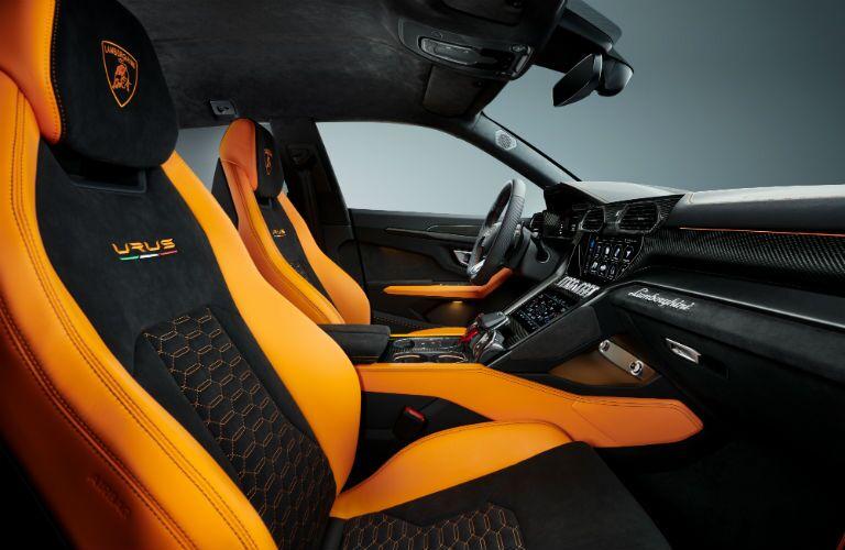2021 Lamborghini Urus Pearl Capsule Interior Cabin Seating & Dashboard