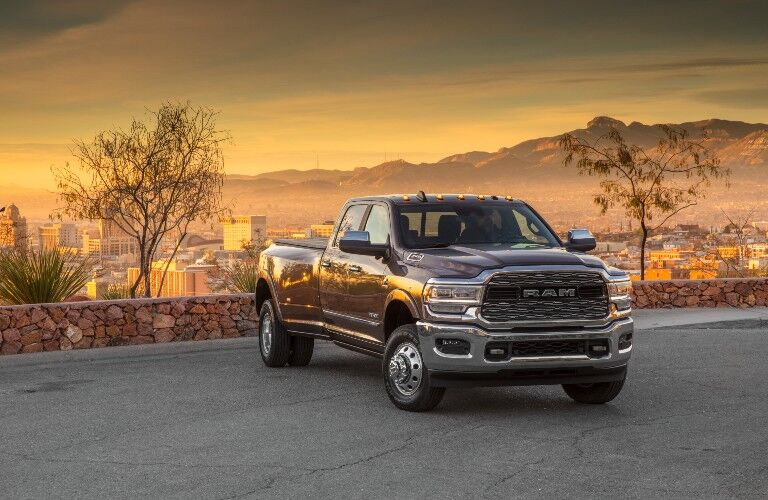 2021 RAM 3500HD Dually Exterior Passenger Side Front Angle