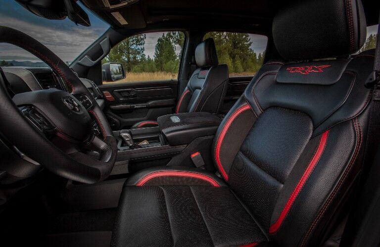 2021 RAM 1500 TRX Interior Cabin Front Seating & Dashboard