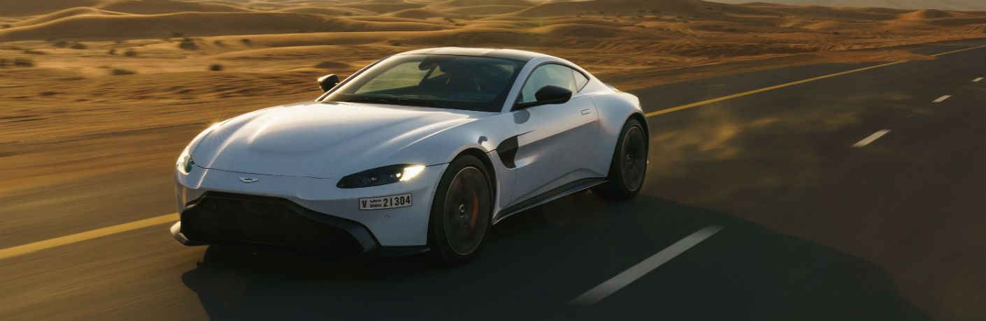 Aston Martin Vantage Exterior Driver Side Front Profile