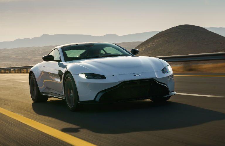 Aston Martin Vantage Exterior Passenger Side Front Profile