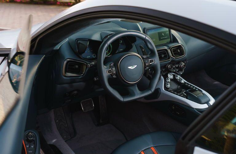 Aston Martin Vantage Interior Cabin Dashboard