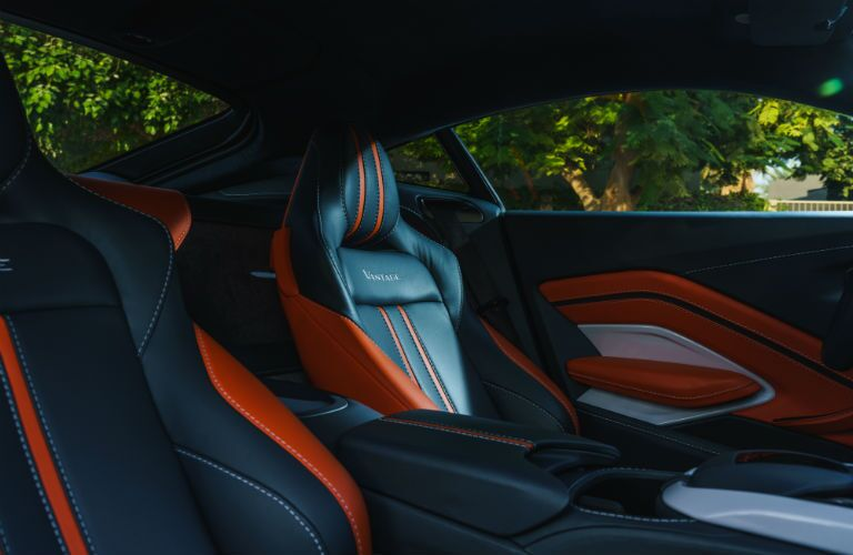 Aston Martin Vantage Interior Cabin Seating