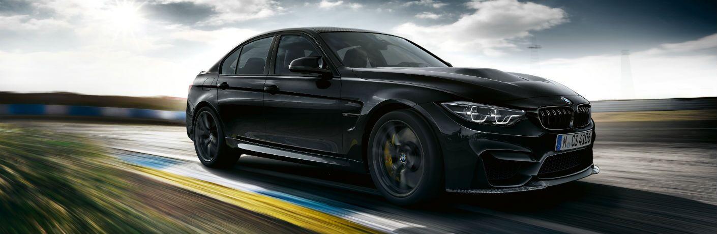 BMW M3 Exterior Passenger Side Front Profile