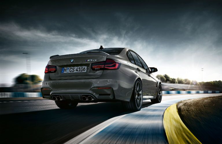 BMW M3 Exterior Passenger Side Rear Angle
