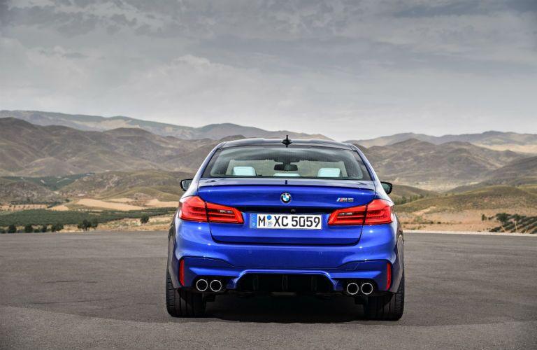 BMW M5 Exterior Rear Fascia