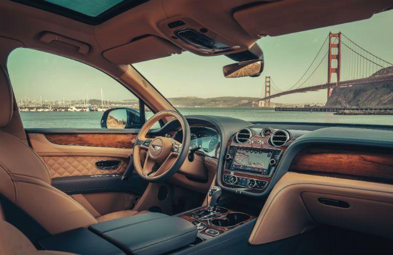 2020 Bentley Bentayga Interior Cabin Dashboard