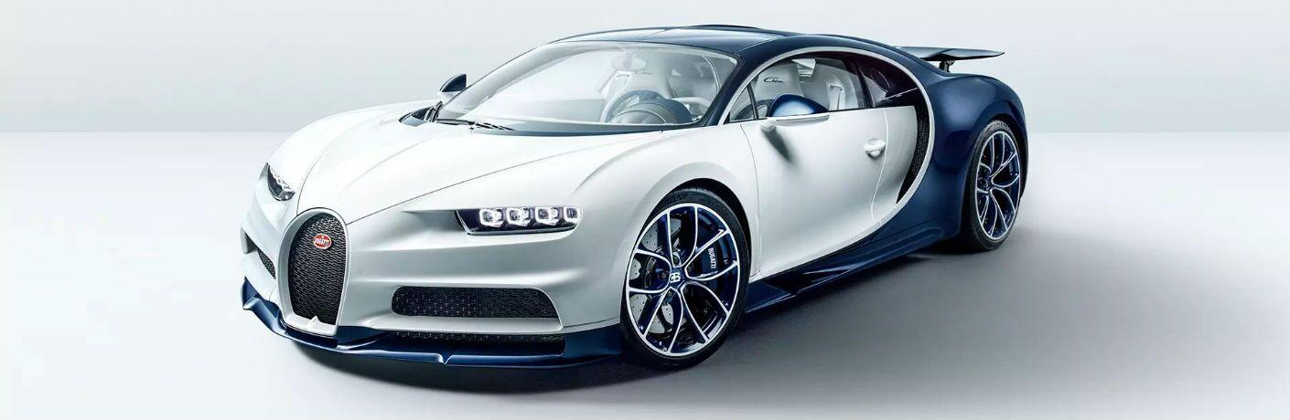 Bugatti Chiron Exterior Driver Side Front Profile