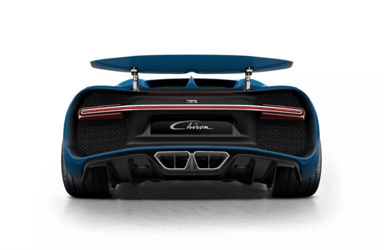 Bugatti Chiron Exterior Driver Rear Fascia