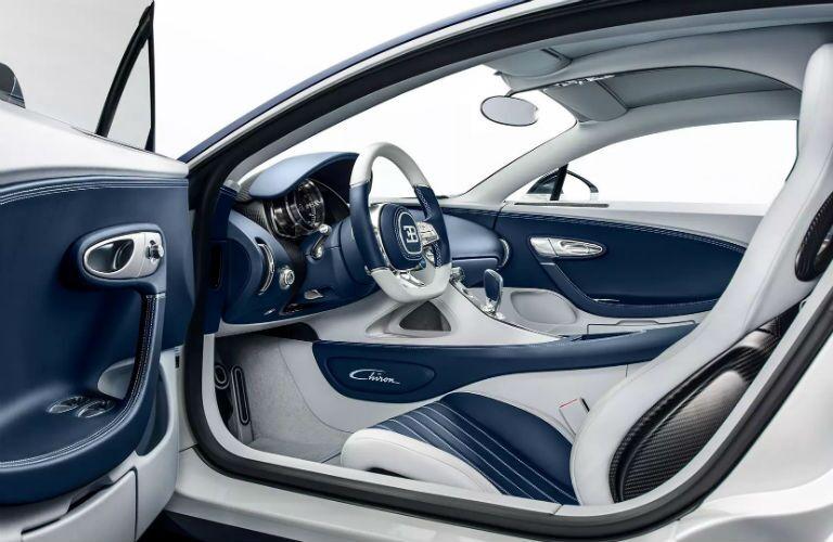 Bugatti Chiron Interior Cabin Dashboard