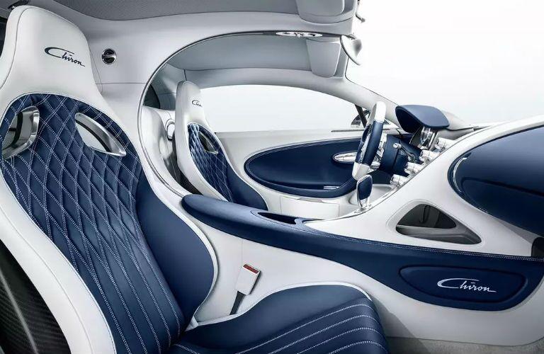 Bugatti Chiron Interior Cabin Seating
