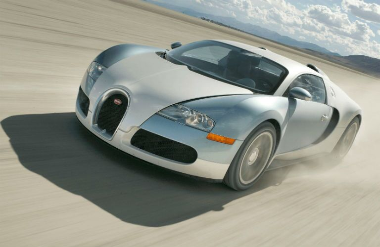 Bugatti Veyron Exterior Driver Side Front Angle