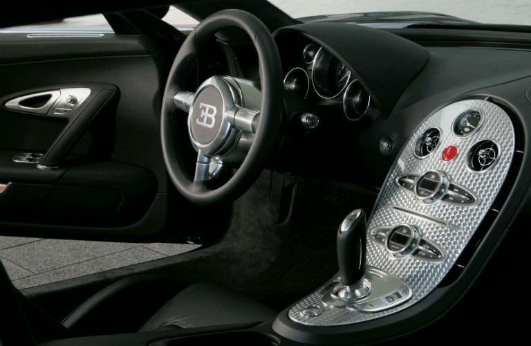 Bugatti Veyron Interior Cabin Dashboard