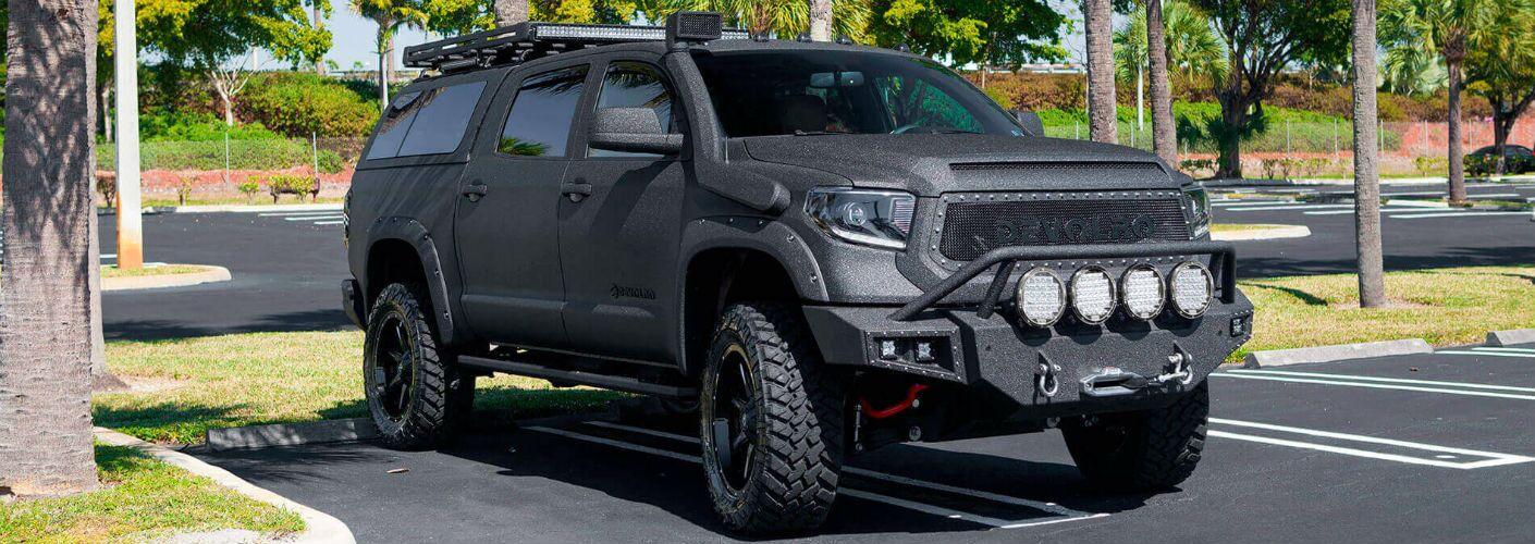 Devolro Aftermarket Version of Toyota Tundra