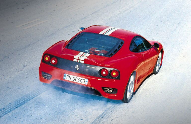 Ferrari 360 Challenge Stradale Exterior Passenger Side Rear Angle