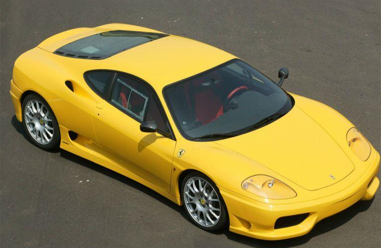 Ferrari 360 Challenge Stradale Exterior Passenger Side Front Aerial