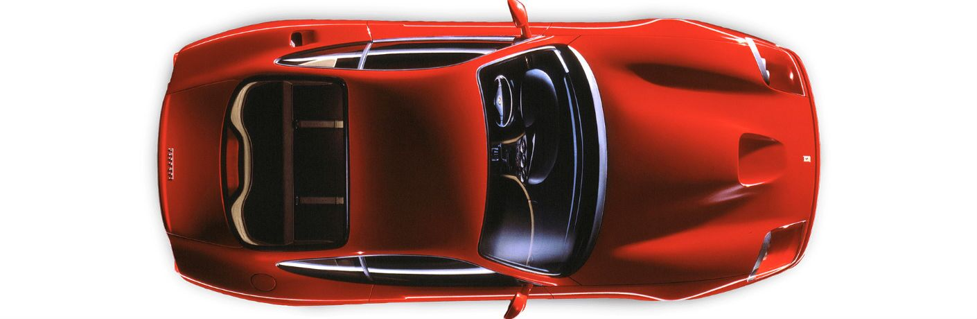 Ferrari 550 Maranello Exterior Aerial View