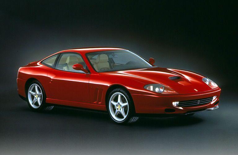 Ferrari 550 Maranello Exterior Passenger Side Front Profile