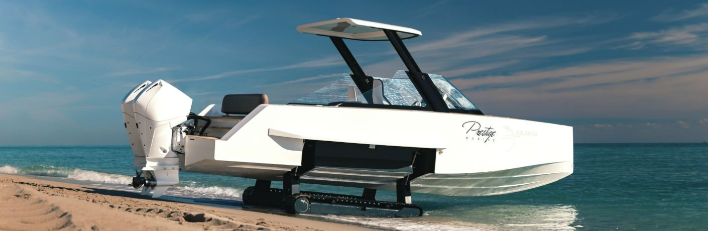 Iguana Yachts Commuter Exterior Starboard Side