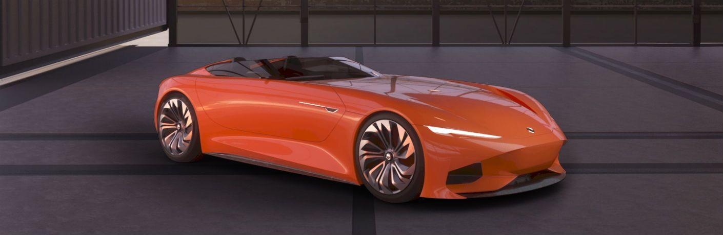 Karma SC1 Vision Concept Vehicle Exterior Passenger Side Front Profile