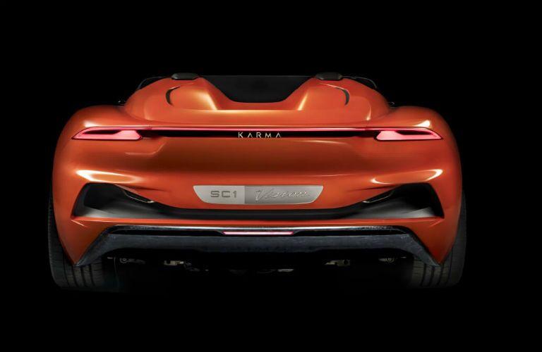 Karma SC1 Vision Concept Exterior Rear Fascia