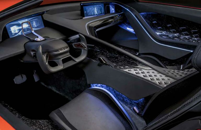 Karma SC1 Vision Concept Interior Cabin Dashboard & Seating