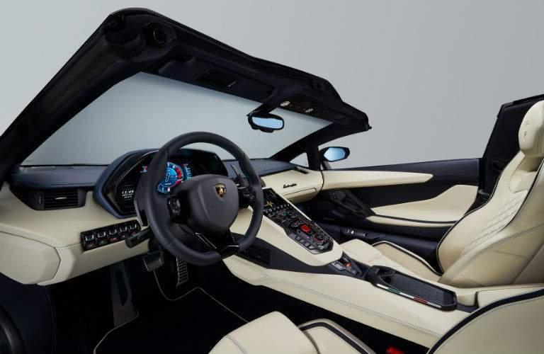 Lamborghini Aventador S Roadster Interior Cabin Front Seat