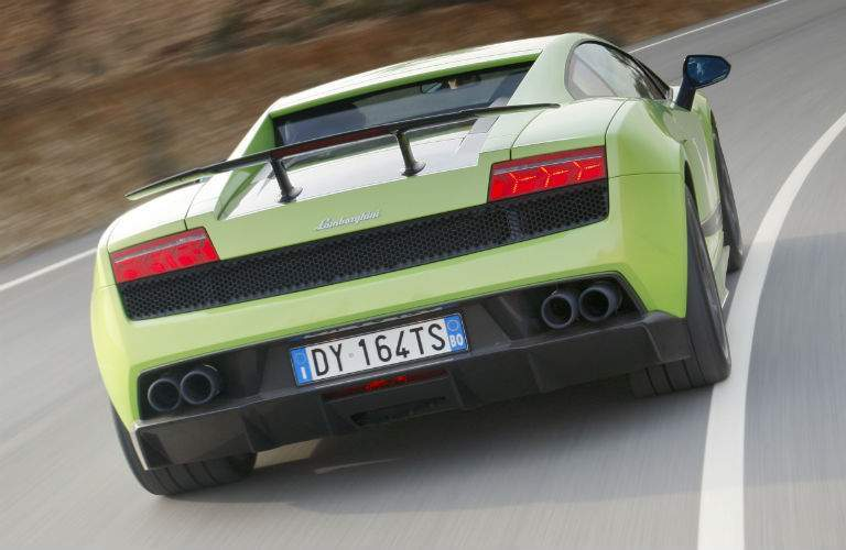 Lamborghini Gallardo LP 570-4 Superleggera Exterior Rear