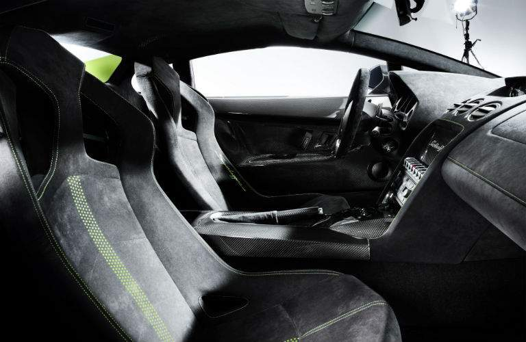 Lamborghini Gallardo LP 570-4 Superleggera Interior Cabin