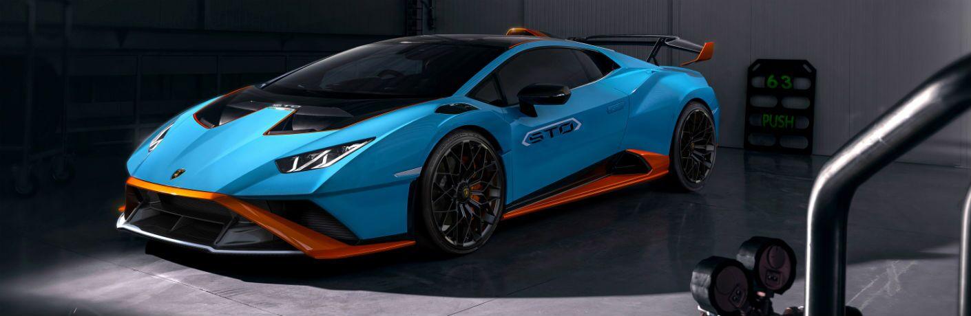 Lamborghini Huracan STO Exterior Driver Side Front Profile