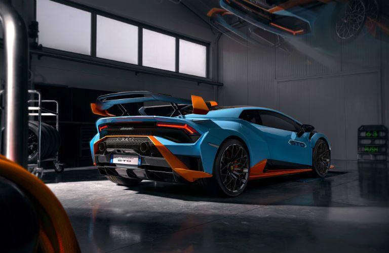 Lamborghini Huracan STO Exterior Passenger Side Rear Profile
