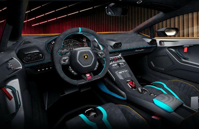Lamborghini Huracan STO Interior Cabin Dashboard