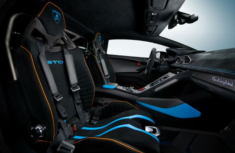 Lamborghini Huracan STO Interior Cabin Seating