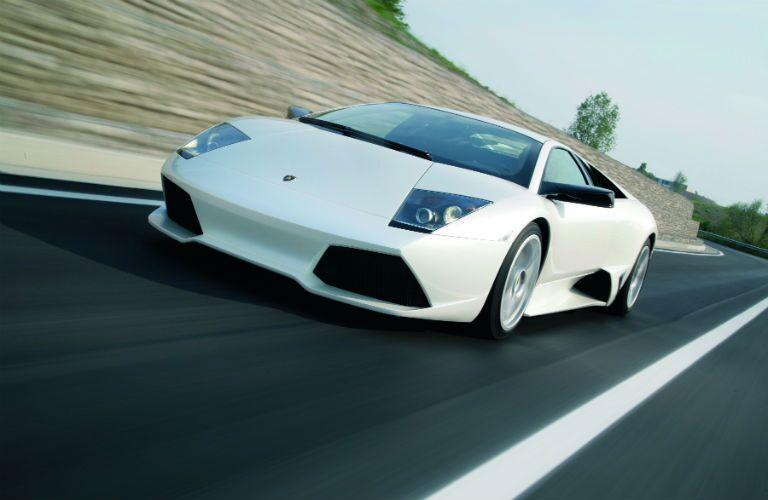 Lamborghini Murcielago Exterior Driver Side Front Angle