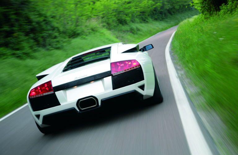 Lamborghini Murcielago Exterior Passenger Side Rear Angle
