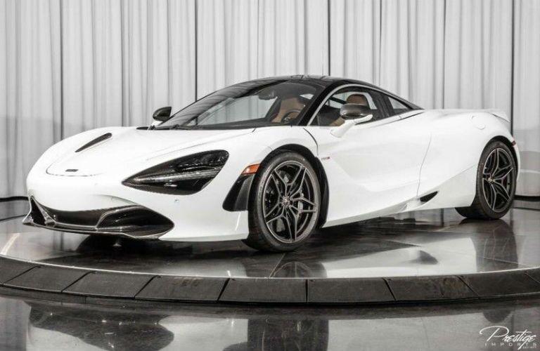 2018 McLaren 720S MSO Exterior Driver Side Front Profile