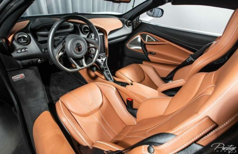 2018 McLaren 720S MSO Interior Cabin Front Seating & Dashboard