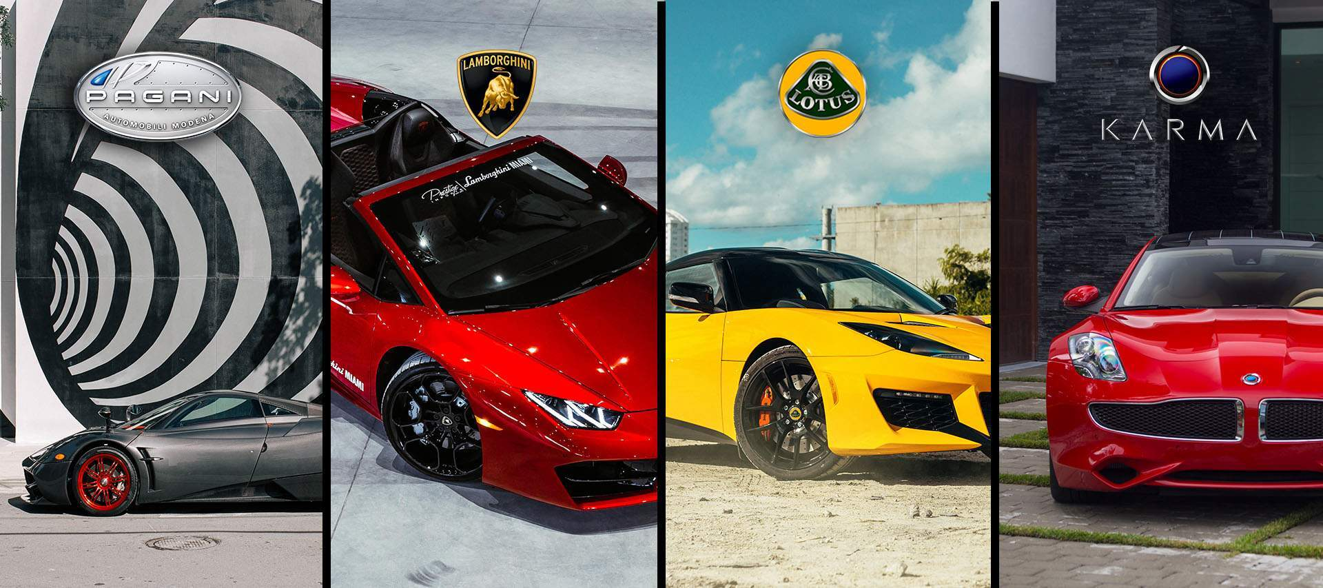 Our story lamborghini miami logo