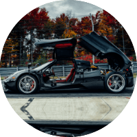 Pagani Huayra Exterior Doors Open & Up