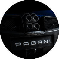 Pagani Huayra Rear Exhaust System
