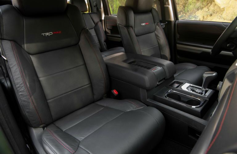 2020 Toyota Tundra front seats