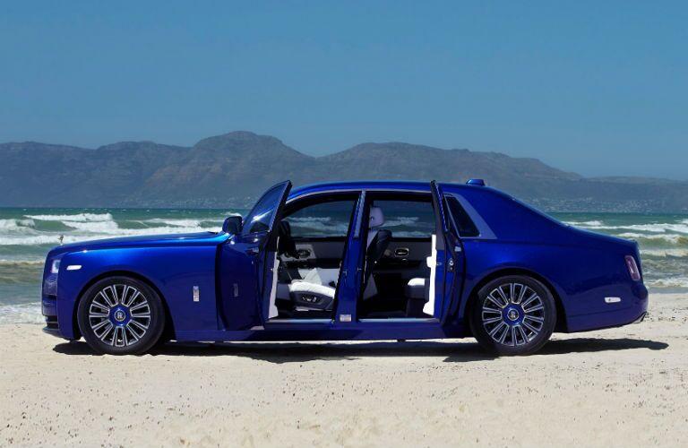 Rolls-Royce Phantom Exterior Driver Side Profile with Doors Open