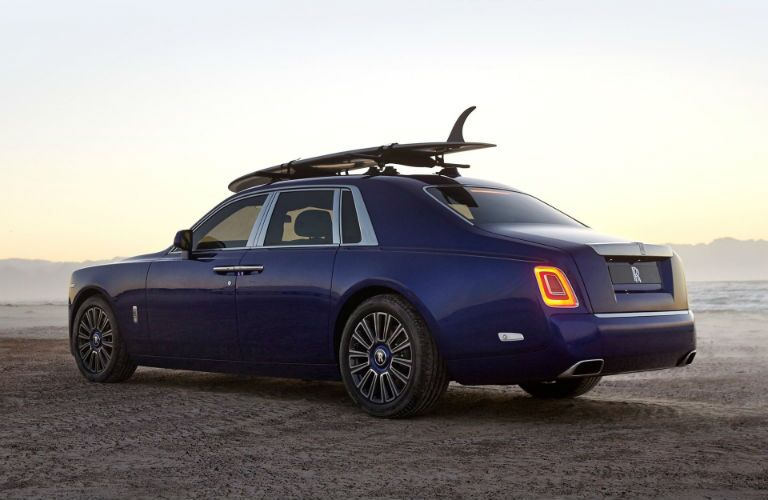 Rolls-Royce Phantom Exterior Driver Side Rear Profile