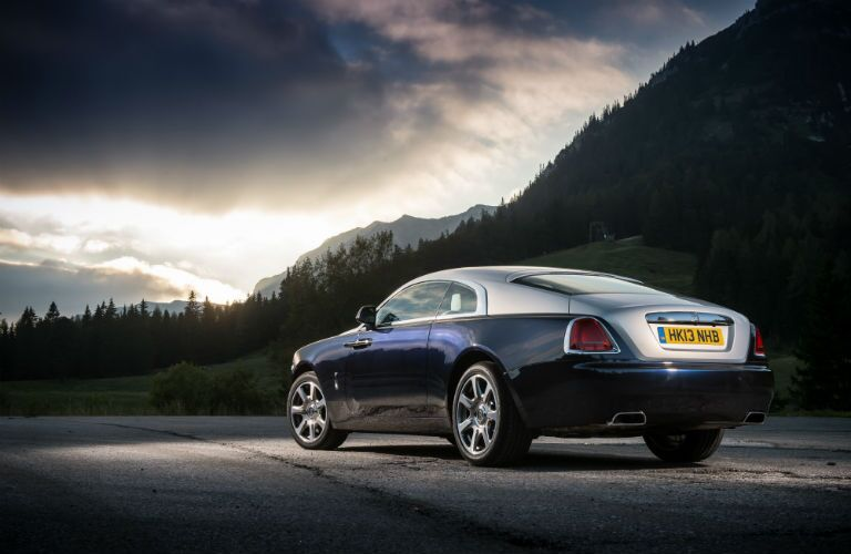 Rolls-Royce Wraith Exterior Exterior Driver Side Rear Profile
