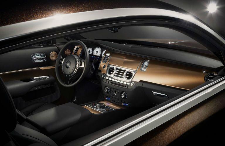 Rolls-Royce Wraith Exterior Interior Cabin Dashboard