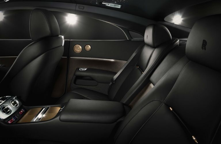Rolls-Royce Wraith Exterior Interior Cabin Rear Seating