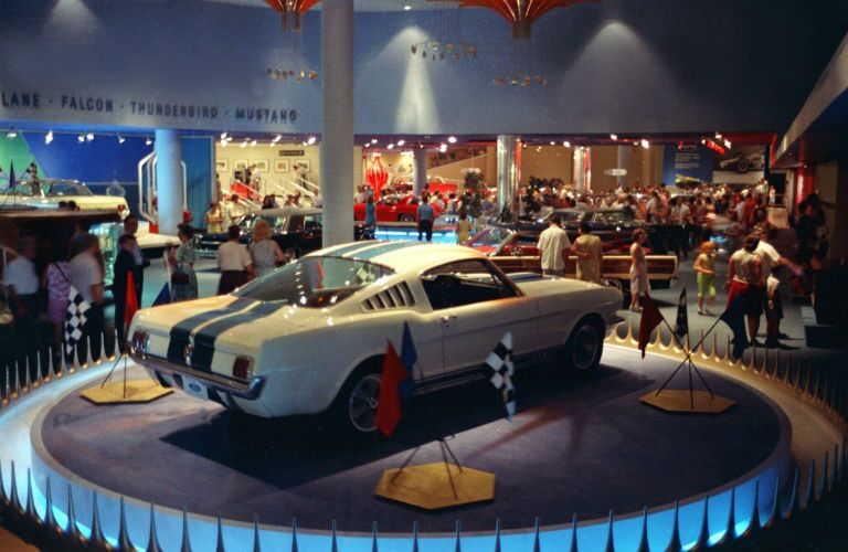 1965 Shelby GT350 at the World's Fair