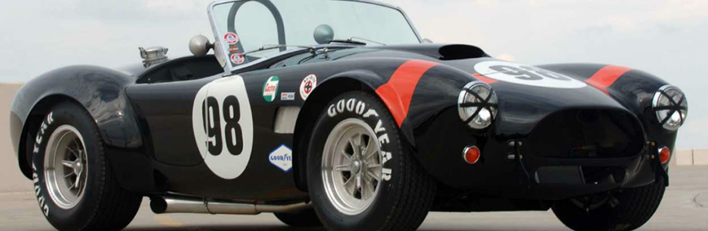 Shelby Cobra Exterior Passenger Side Front Profile
