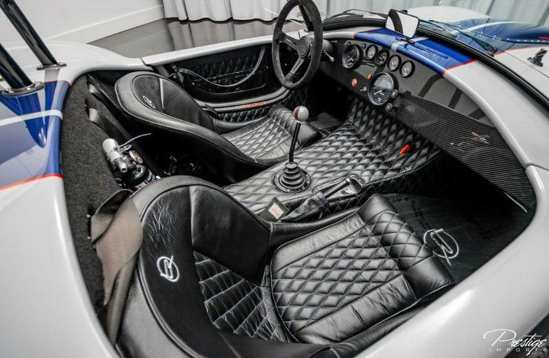 Shelby Cobra Interior Cabin Seating & Dashboard